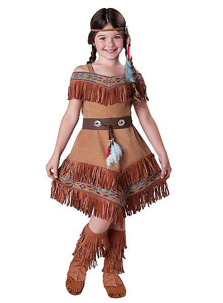 Indianermädchen Kinderkostüm