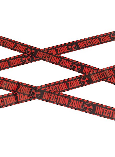 Infection Zone Barrier Tape