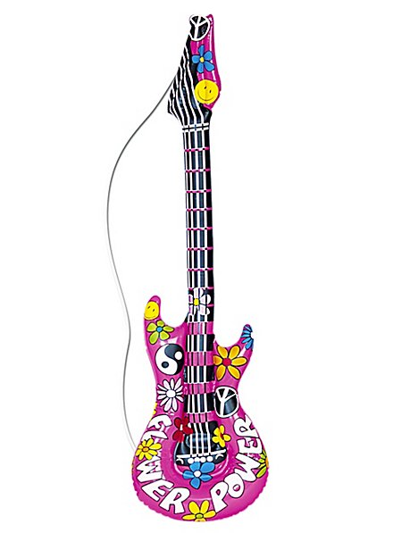 Inflatable Hippie Guitar