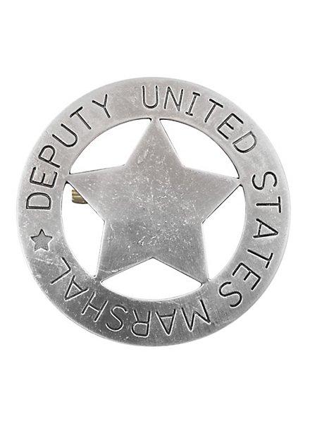 Insigne étoile US Deputy Marshal