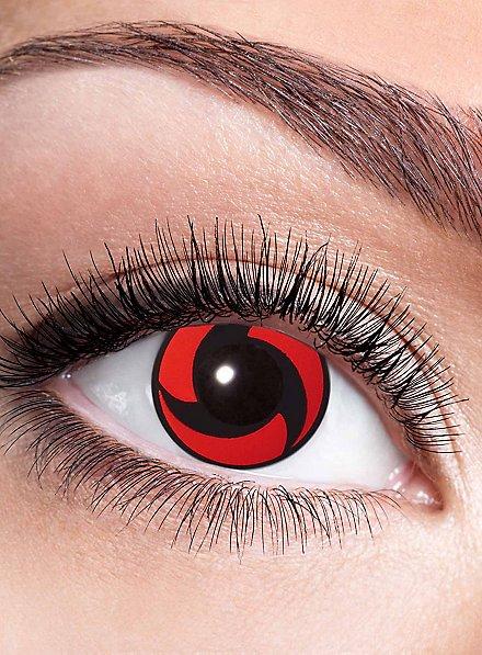 Itachis Mangekyou Sharingan Kontaktlinse mit Dioptrien