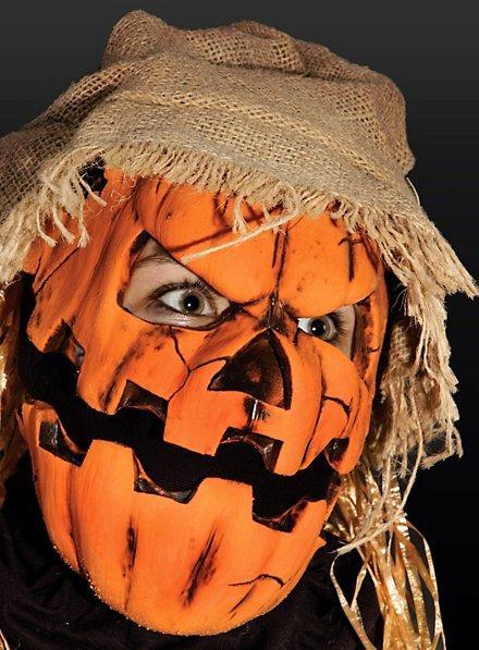 Jack O'Lantern Latex Mask