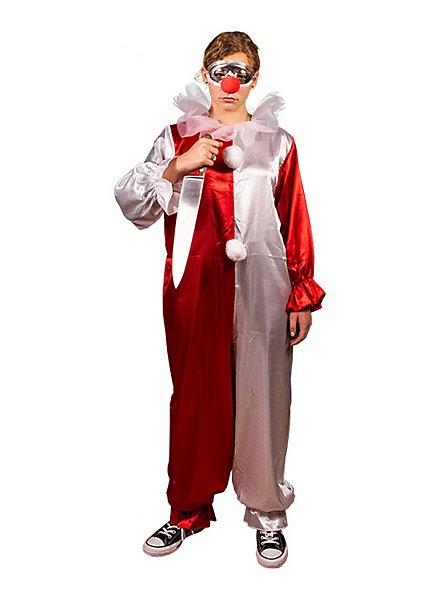 Jamie Lloyd clown costume