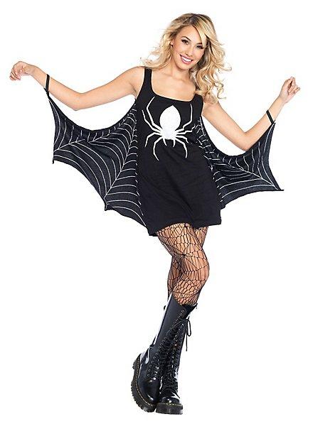 Jersey dress spider web