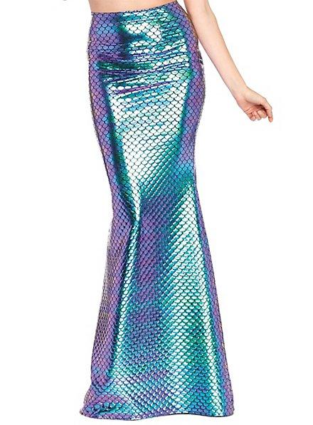 Jupe de sirène bleu turquoise