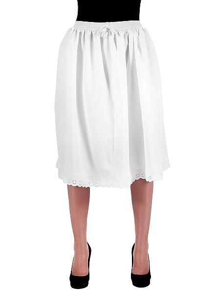 Jupon de costume traditionnel blanc