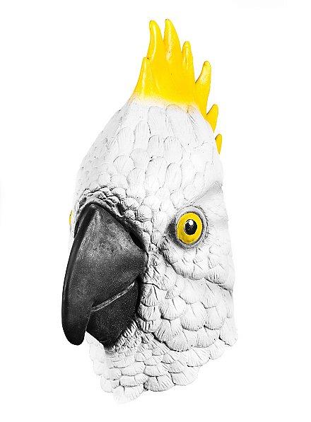 Kakadu Maske aus Latex