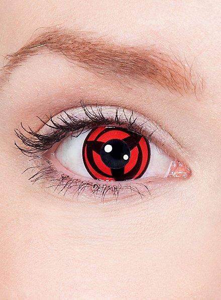 Kakashis Mangekyo Sharingan Effect Contact Lenses