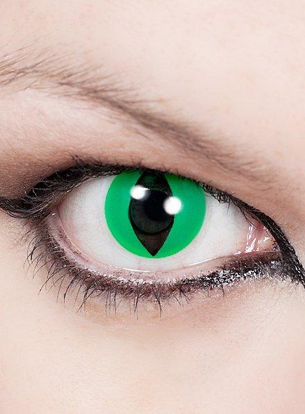 Katzenauge Grün Kontaktlinsen