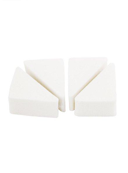 Kit de quatre éponges en latex triangulaires