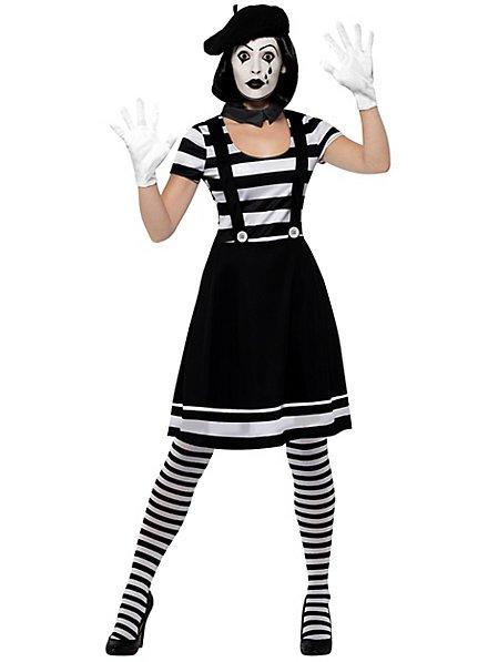 Klassische Pantomimin Kostüm