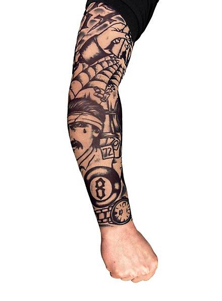 Knacki Tattoo Skin Ärmel