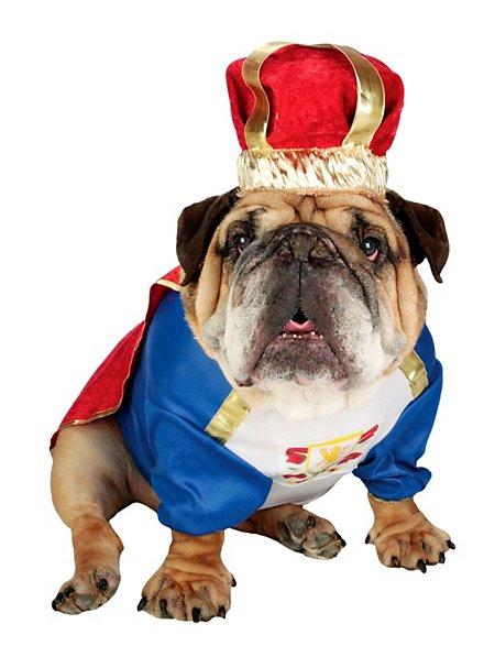 König Schnauze Hundekostüm