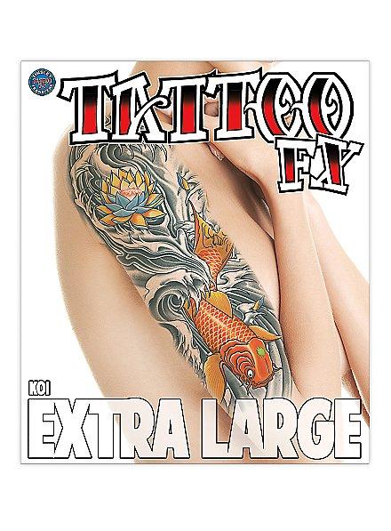 Koi Klebe-Tattoo XL