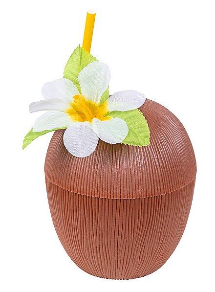 Kokosnuss Trinkbecher