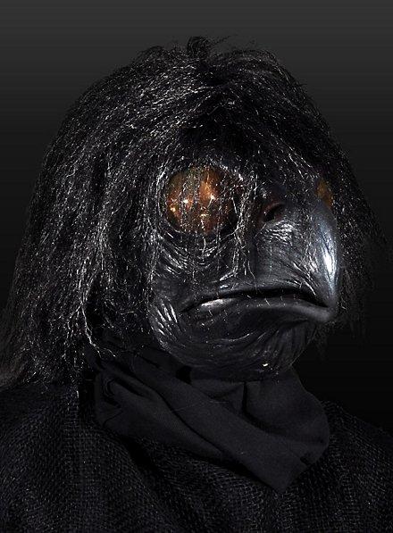 Krähenviech Maske aus Latex