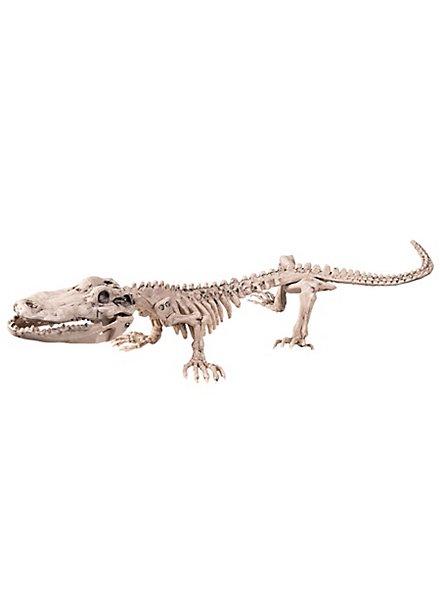 Krokodilskelett Halloween Deko