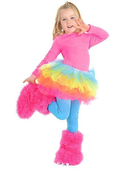 Kuschelmonster Stiefelstulpen pink
