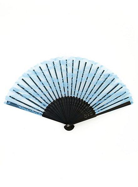 Lace Fan blue