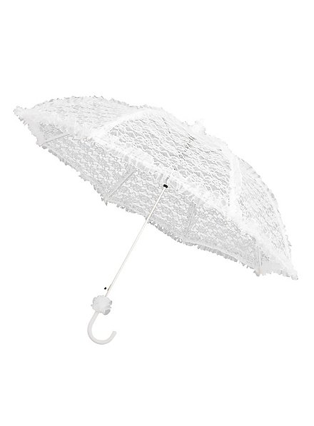 Lace Umbrella white