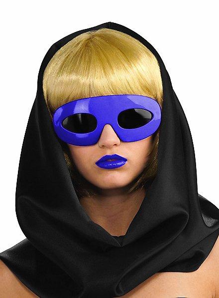 Lady Gaga Sonnenbrille lila