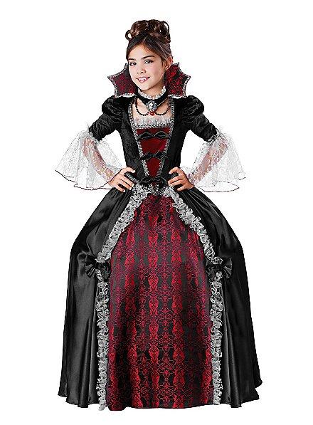 Lady Vampiress Kids Costume