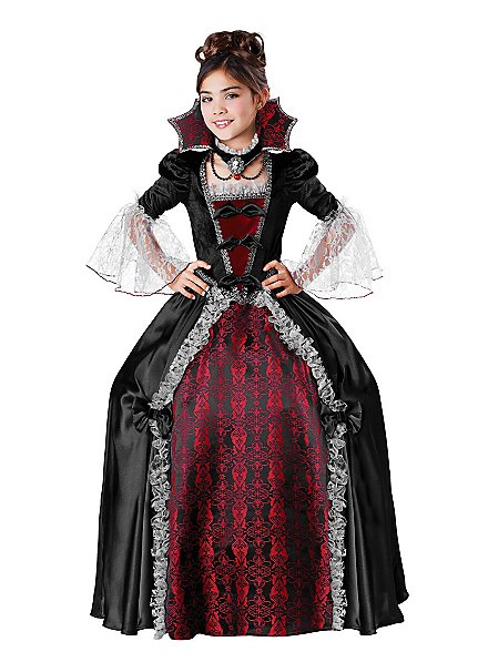 Lady Vampiress Kinderkostüm