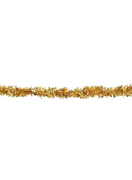 Lametta Girlande 4 Meter gold