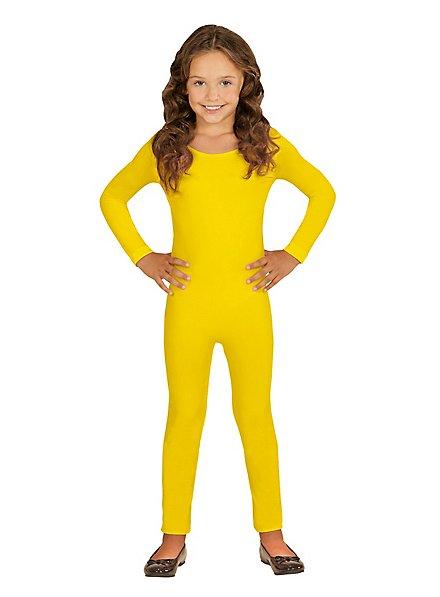 Langer Body für Kinder gelb