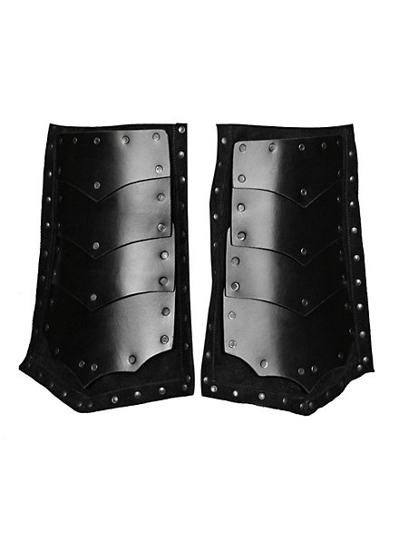 Leather Tassets Assassin black
