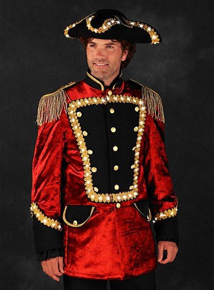 LED Uniform für Herren rot