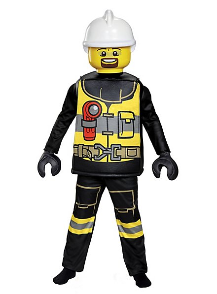 Lego Feuerwehrmann Kinderkostüm