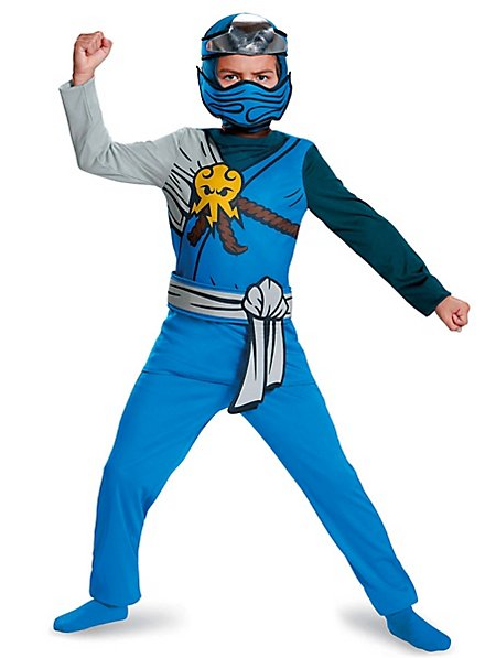 Lego Ninjago Jay Jumpsuit costume for kids