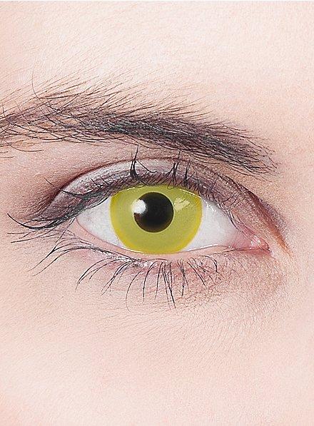 Lentille de contact correctrice jaune