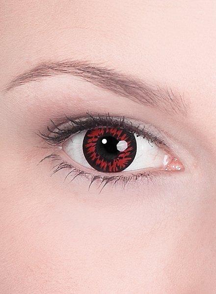 Lentille de contact correctrice loup sanguinaire