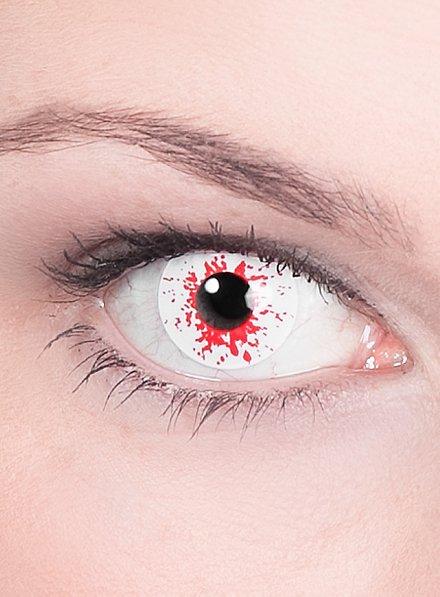 Lentilles de contact infecté