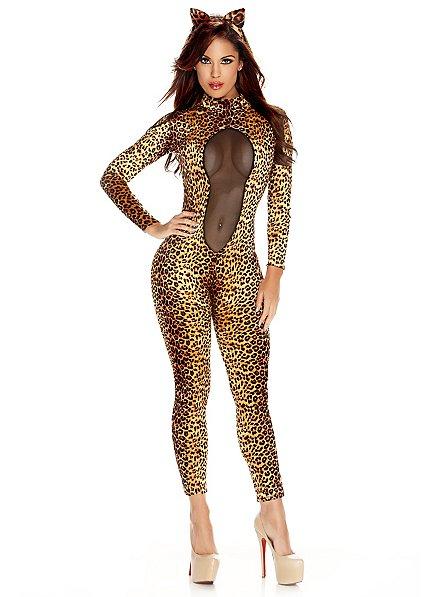 Leopard Cat Suit & Headband