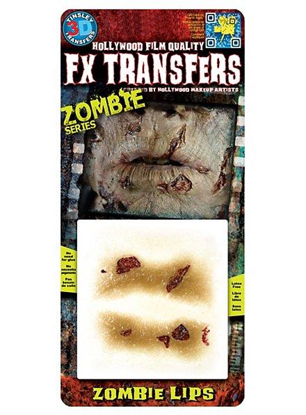 Lèvres de zombie 3D FX Transfers