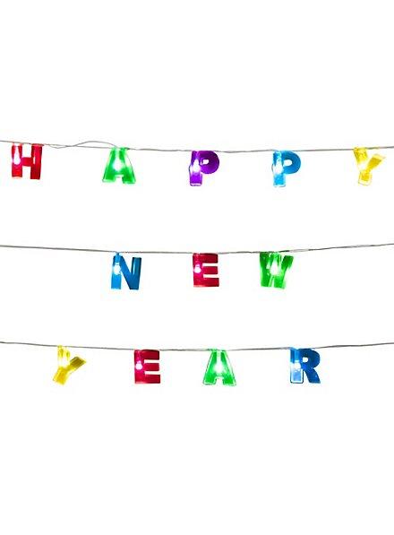 Lichterkette Happy New Year