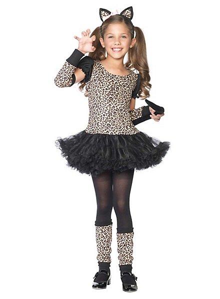 Listiger Leopard Kinderkostüm