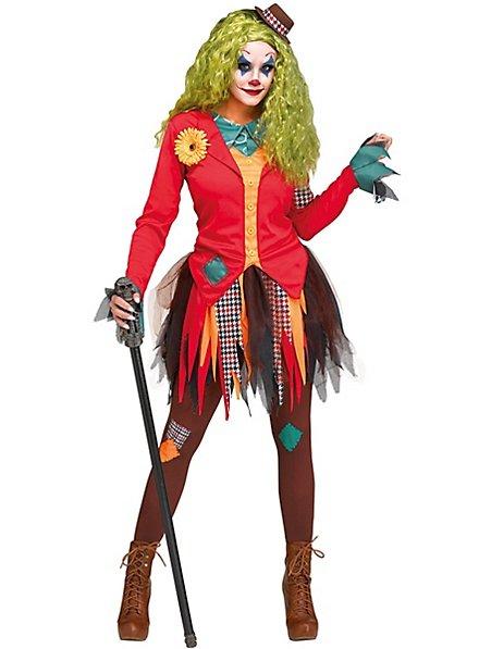 Lumpiger Horrorclown Kostüm