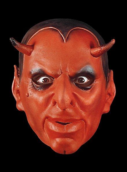 Luzifer Maske aus Schaumlatex
