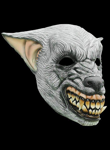 Lycan Horror Mask made of latex
