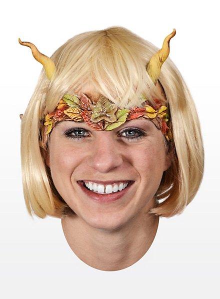 Märchenfee Halbmaske aus Latex