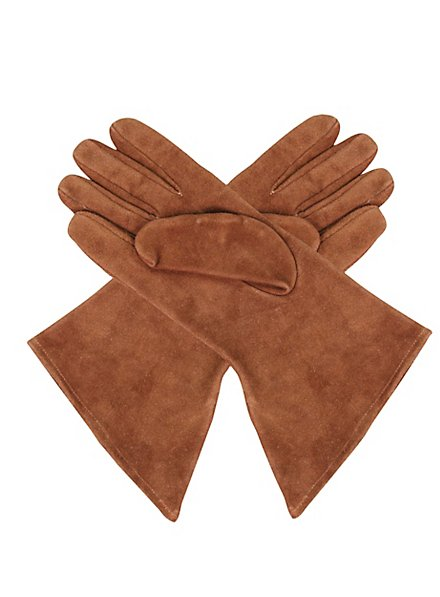 Maid Marion Suede Gloves