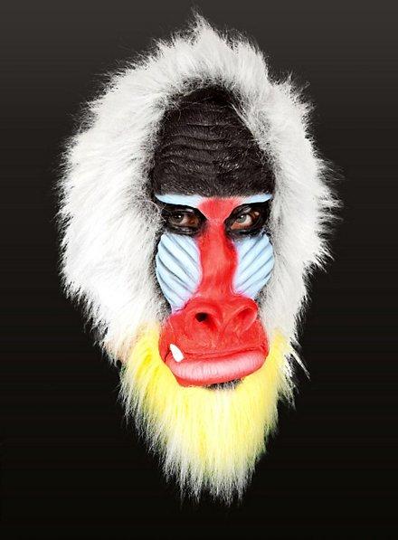Mandrill Maske aus Latex