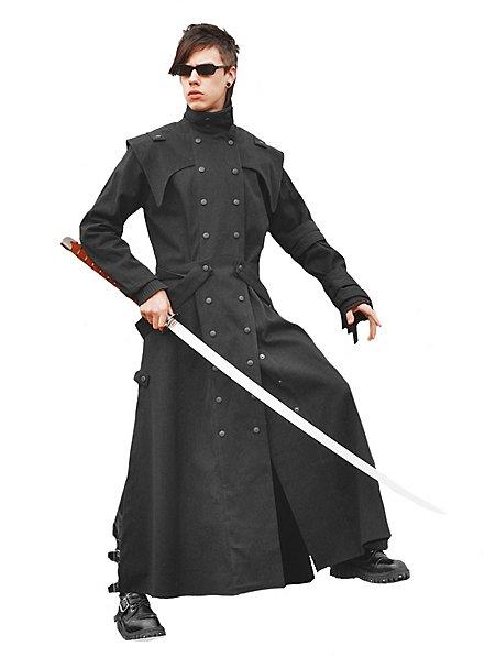 Manga Coat black