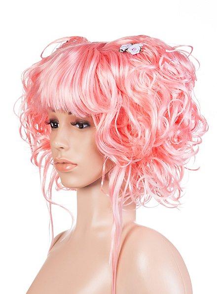 Manga pink Perücke