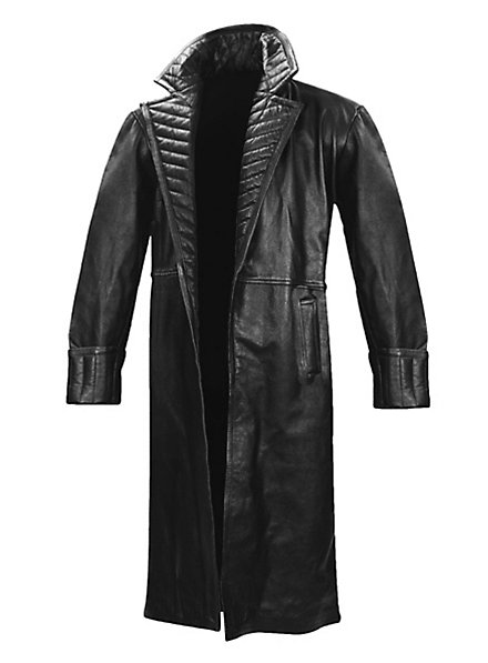 Manteau en cuir Iron Man 2 Nick Fury