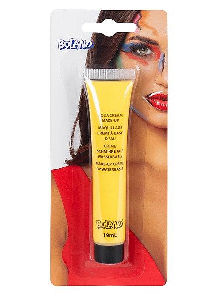 Maquillage crème jaune